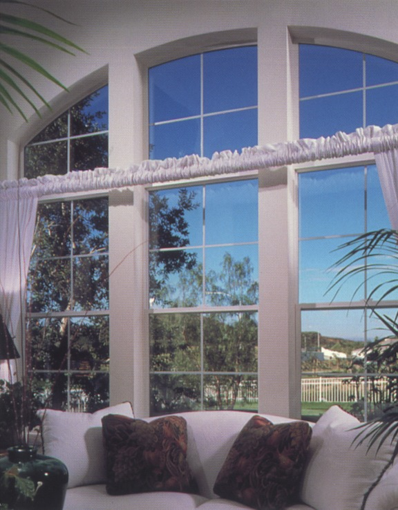 three large side-by-side living room windows